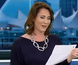 Apresentadora de jornal canadense rebate críticas por