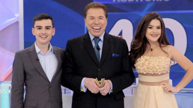 Silvio Santos promove debate sobre Dudu Camargo e Maisa, que sai chorando do palco