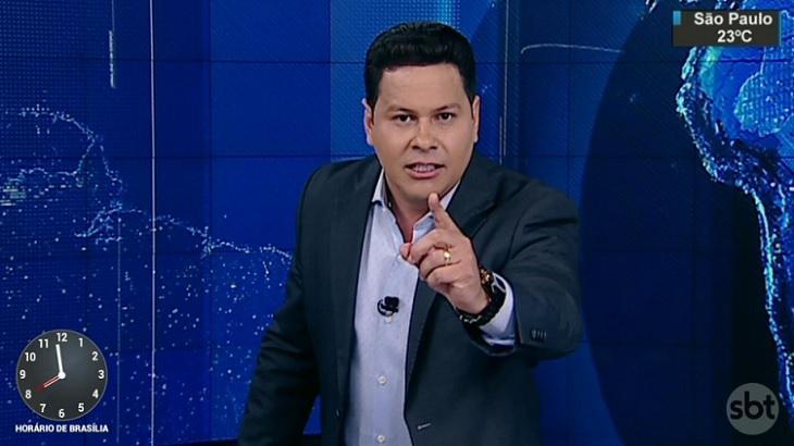 Silvio Santos pode dar jornal no horário nobre para Marcão do Povo