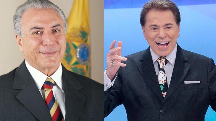 Após encontro entre Michel Temer e Silvio Santos, SBT começa a exibir alertas sobre a reforma da Previdência