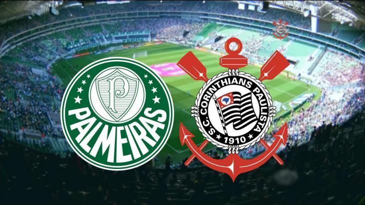 Globo opta por jogo do Palmeiras no meio da semana e pretere Corinthians