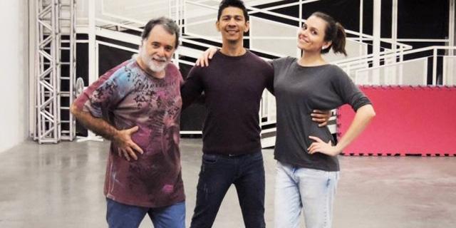 Tony Ramos e Monica Iozzi aprendem a dançar tango para