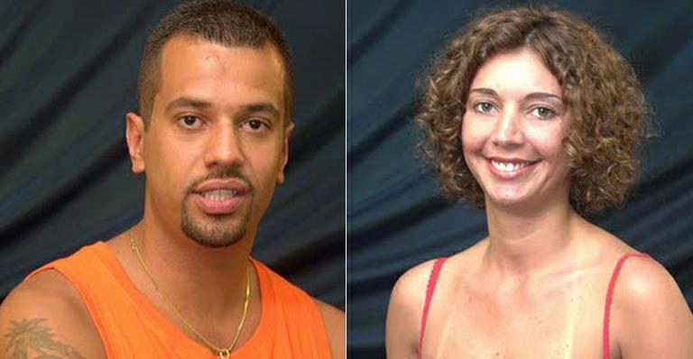 Tarciana e Jeférson (Foto: Reprodução) Globo Big Brother Brasil BBB