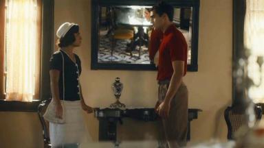 Isabel e Lúcio em cena de Éramos Seis