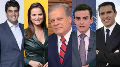 Imagem dividida com: André Azeredo, Carla Cecato, Chico Pinheiro, Dudu Camargo e Rodrigo Bocardi