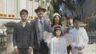 """Família protagonista de """"Éramos Seis"""""""