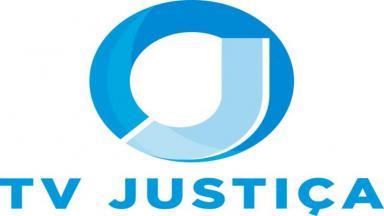 Logo da TV Justiça