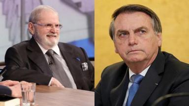 Jô Soares e Bolsonaro