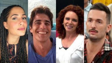 Camila Pitanga, Reynaldo Gianecchini, Leilane Neubarth e Diego Hypólito