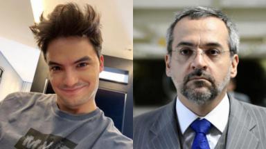 Felipe Neto está sendo processado pelo ministro Abraham Weintraub