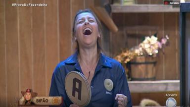 Bifão venceu Diego Grossi e Tati Dias na Prova do Fazendeiro no reality show A Fazenda 2019