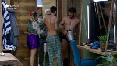 Lucas Viana causou após festa no reality show A Fazenda 2019