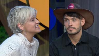 A sociliate Andréa Nóbrega conseguiu se livrar da roça em A Fazenda 11 e mandou recado para Lucas Viana