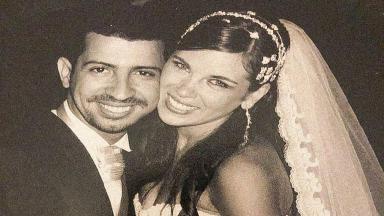 Dennis DJ e Bárbara Falcão vestidos de noivos