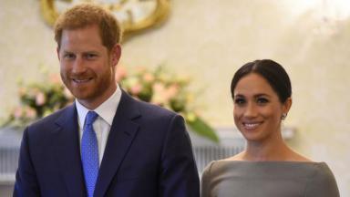 Príncipe Harry e a mulher Meghan Markle