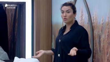 Thayse Teixeira ficou revoltada com mais uma punição no reality show A Fazenda 2019