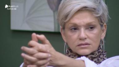 Andréa Nóbrega foi aos prantos sem a presença de Jorge Sousa no reality show A Fazenda 2019