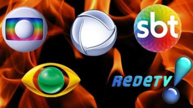 Globo, Record, SBT, Band e RedeTV!
