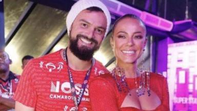 Paolla Oliveira e Douglas Maluf