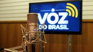 Logo de A Voz do Brasil