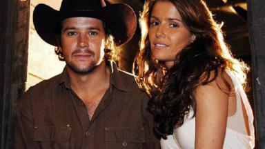 Murilo Benício e Deborah Secco em América