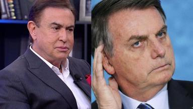 Amaury Jr e Jair Bolsonaro