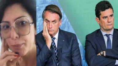 Antonia Fontenelle, Bolsonaro e Moro