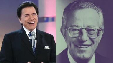 Silvio Santos e Blota Jr.