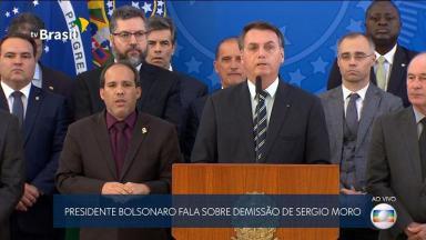 Bolsonaro não apareceu no SBT e RedeTV! no pronunciamento