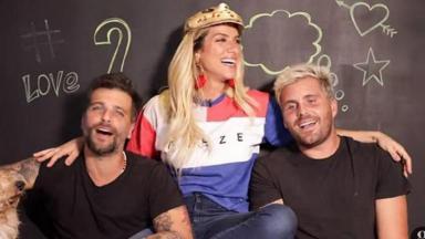 Bruno Gagliasso, Giovanna Ewbank e Thiago Gagliasso