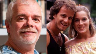 Carlos Lombardi, Marcello Novaes e Letícia Spiller