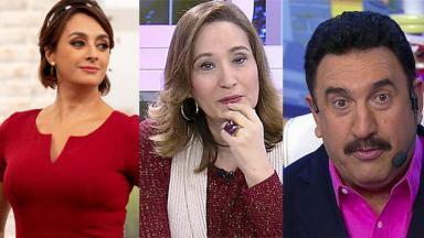 Cátia Fonseca, Sônia Abrão e Ratinho