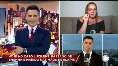 Luiz Bacci durante o Cidade Alerta