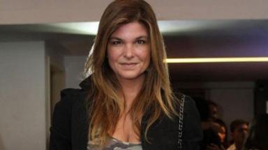 A atriz Cristiana Oliveira