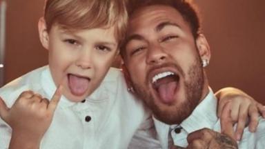 Davi Lucca e Neymar