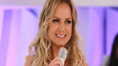 Eliana durante o programa