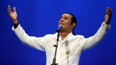 Elymar Santos durante show