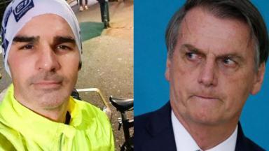 Ex-BBB Ralf e Jair Bolsonaro