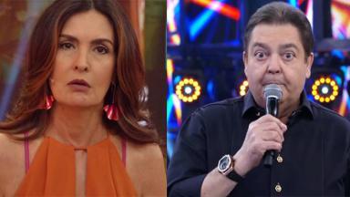Fátima Bernardes e Fausto Silva