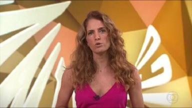 No Fantástico, Poliana apresentou programa