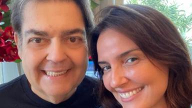 Faustão e Luciana Cardoso