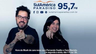 Fernando Ceylão e Carol Barreto