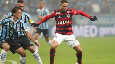Flamengo x Grêmio disputam nesta quarta-feira (21)