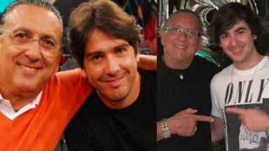 Galvão, Caca e Luca Bueno