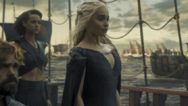 "Cena de ""Game of Thrones""."