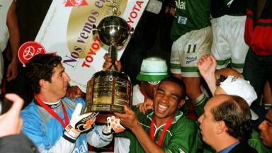 Título do Palmeiras na Libertadores de 1999, jogo foi reprisado pela Globo