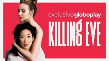 Capa da série Killing Eve com as protagonistas.