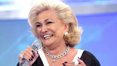 A apresentadora Hebe Camargo