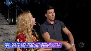 Rodrigo Faro entrevista Joelma para o Hora do Faro