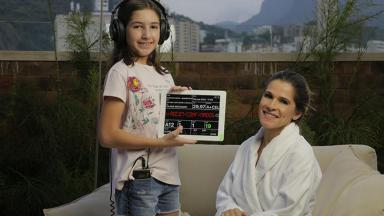 Ingrid Guimarães com a filha, Clara Machado